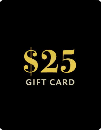 $25 gift card icon