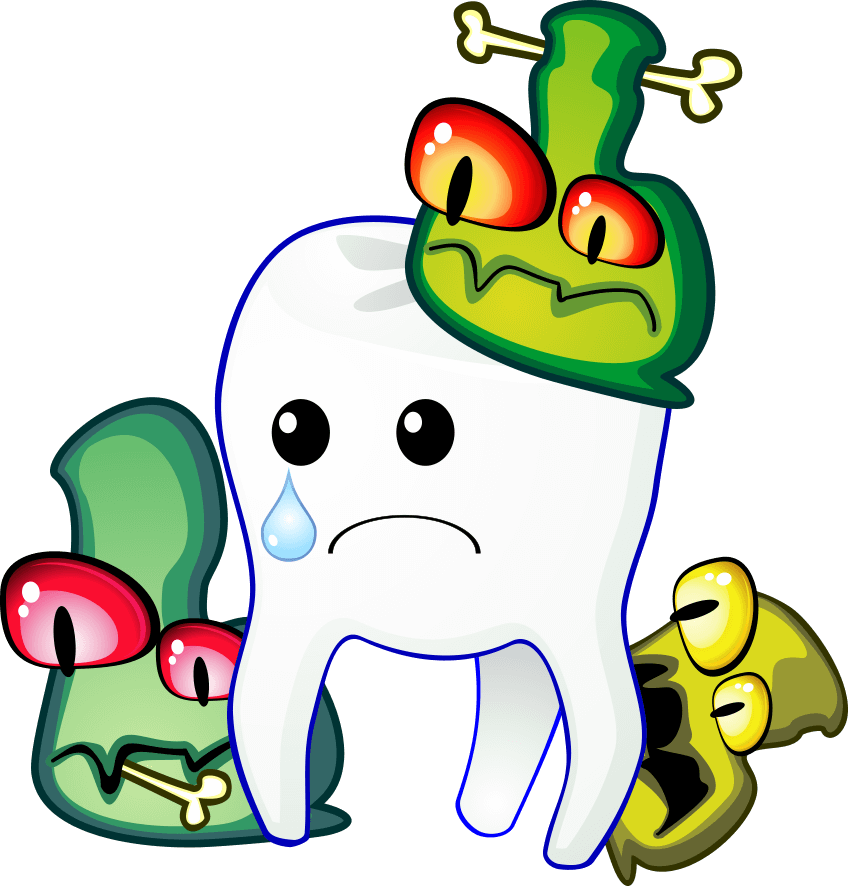 tooth decay build up